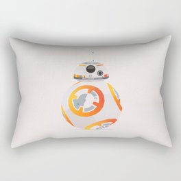 Minimalistic BB-8 Rectangular Pillow