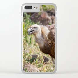 Hot day Clear iPhone Case