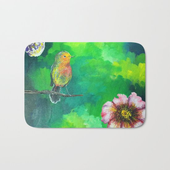 Birdy Dreams Bath Mat