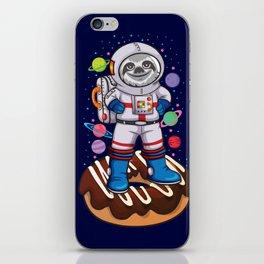 Space Sloth iPhone Skin