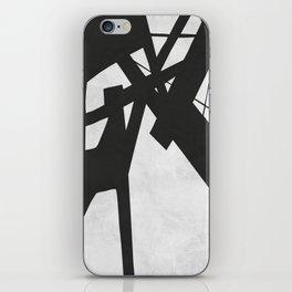 Black Expressionism XVIII iPhone Skin