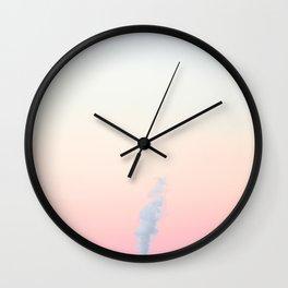 candy cotton n° II [sky series] Wall Clock