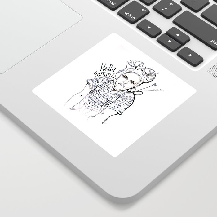 #STUKGIRL EMMA Sticker