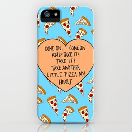 A Pizza My Heart iPhone Case