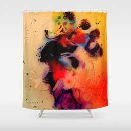 At the tempo of the carnival Shower Curtain
