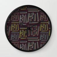 80s Wall Clocks featuring Such 80s by L. A. W. T. Oo. N. S.