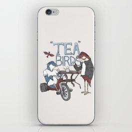 Tea Birds iPhone Skin