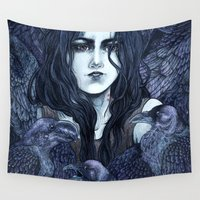 marceline Wall Tapestries featuring Marceline by Angela Rizza
