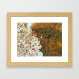 Two Sides Framed Art Print