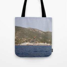 Wreck Of The Costa Concordia Tote Bag