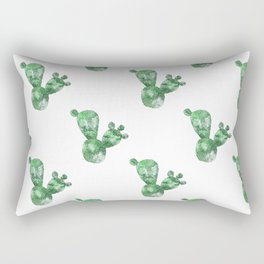 Paddle Cactus Rectangular Pillow