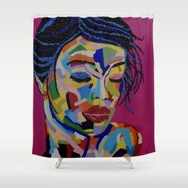 Fauve Lady 1 Shower Curtain