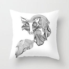 Reynard Fox Throw Pillow