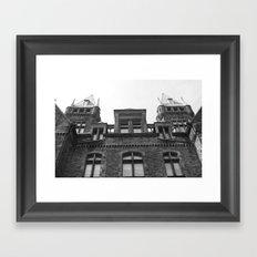 Aslyum Framed Art Print