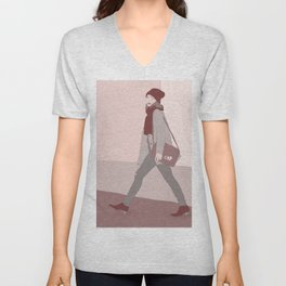 No one's going to take me alive Unisex V-Neck