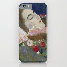RIA ON HER DEATHBED - GUSTAV KLIMT iPhone Case