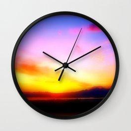 Arizona Sunset Wall Clock