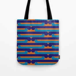 Pop Māori Series: Kikorangi kicks Tote Bag
