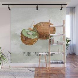 Plant-Based Kitchen Kiwi Wall Mural