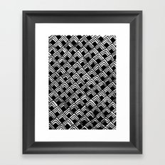 Hand-drawn Pattern Framed Art Print