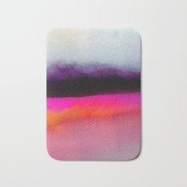 Pink Silver Bath Mat