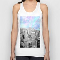 new york city Tank Tops featuring New York City. by 2sweet4words Designs
