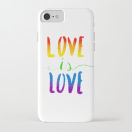 Love is Love - Gay iPhone Case