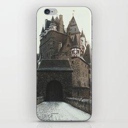 Finally, a Castle - landscape photography iPhone Skin