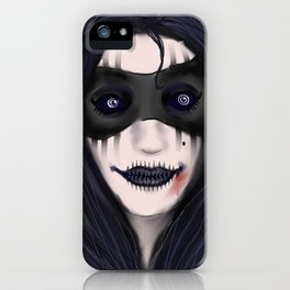The Black Witch: Witch of Death iPhone Case