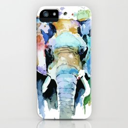 Animal painting iPhone Case