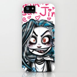 Jinx was Here iPhone Case