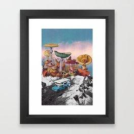 Good Trip Framed Art Print