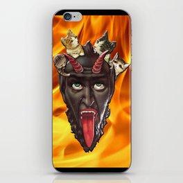 Krampuss Kitty iPhone Skin