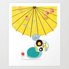 Shutter bug Art Print