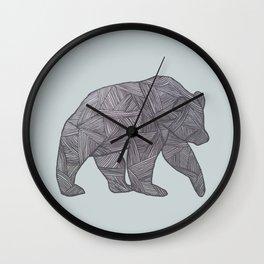 Bear. Wall Clock