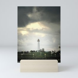 Lions Lighthouse ~ Stand By Mini Art Print