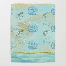 Beach Design Poster