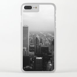 Chicago evening Clear iPhone Case