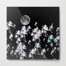 Tropical night Metal Print