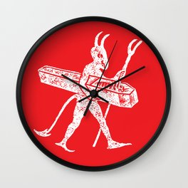 Vintage little devil Wall Clock