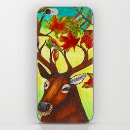 Elk of Autumn iPhone Skin