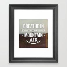 Mountain Air Framed Art Print