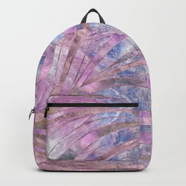 Fluorite and Charoite Wavy Pattern Backpack