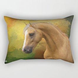 Palomino horse Rectangular Pillow