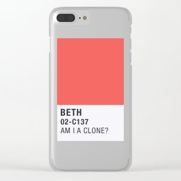 Pantone - Froopyland Clear iPhone Case