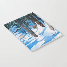 Deer in the woods Notebook