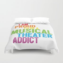Musical Theater Pride Duvet Cover