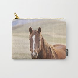 Colorful Western Horse Photo Carry-All Pouch