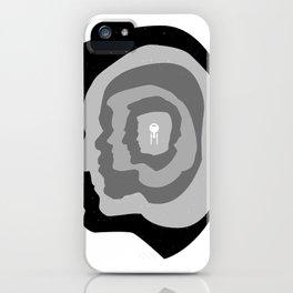 Star Trek Head Silhouettes iPhone Case