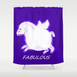 Fabulous Pegasus Shower Curtain